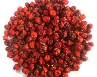 Organic rowan berries   Dry mountain ash   Naturally Dried   Rowan   Red rowan   Sorbus   Talisman   Decor  