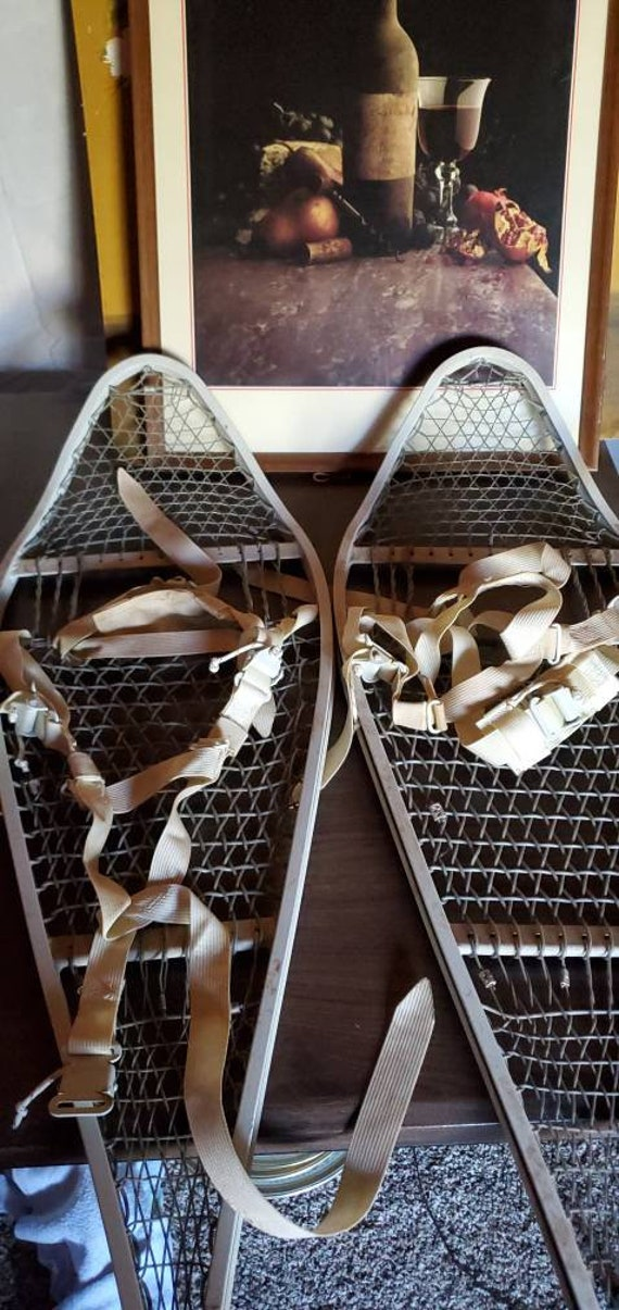 Vintage Military Snow Shoes