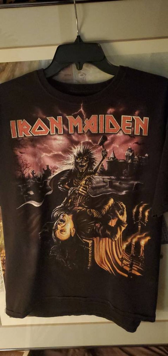 Classic Iron Maiden Transylvania T Shirt
