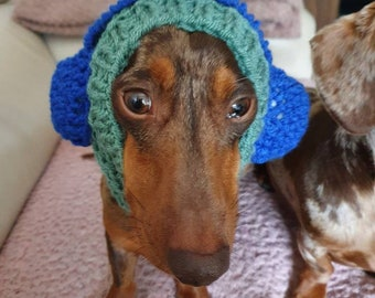 Hand knitted dog and cat anti stress snood