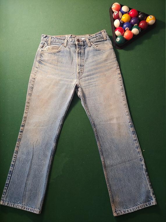 Vintage Levi's 517 Orange Tab Jeans