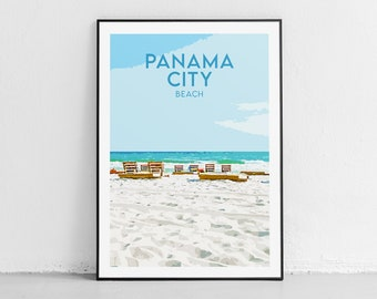 Panama City Beach House Ocean Lover FL Florida Beach Street Sign |Surfer