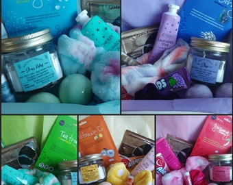Self Care Spa Night Mystery Box! Gift Box! Perfect spa night in a box for you or a friend!