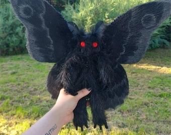 Mothman Plush Toy Halloween Gift Gothic Décor