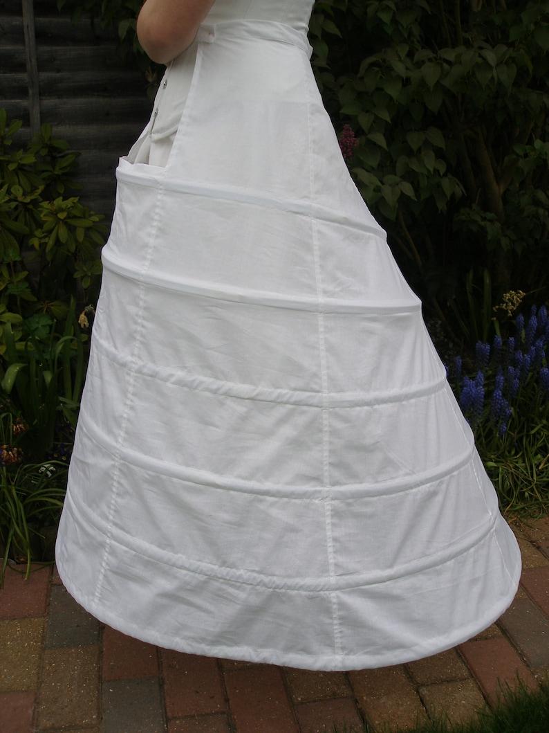 Victorian Lingerie – Underwear, Petticoat, Bloomers, Chemise Victorian Elliptic Hoop $84.95 AT vintagedancer.com