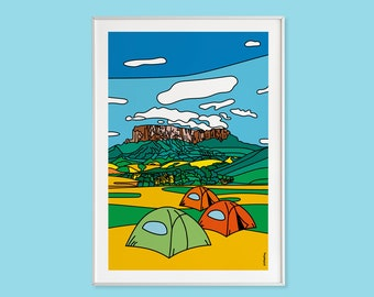 Roraima - Collection A little piece of Venezuela (Printed illustrations)