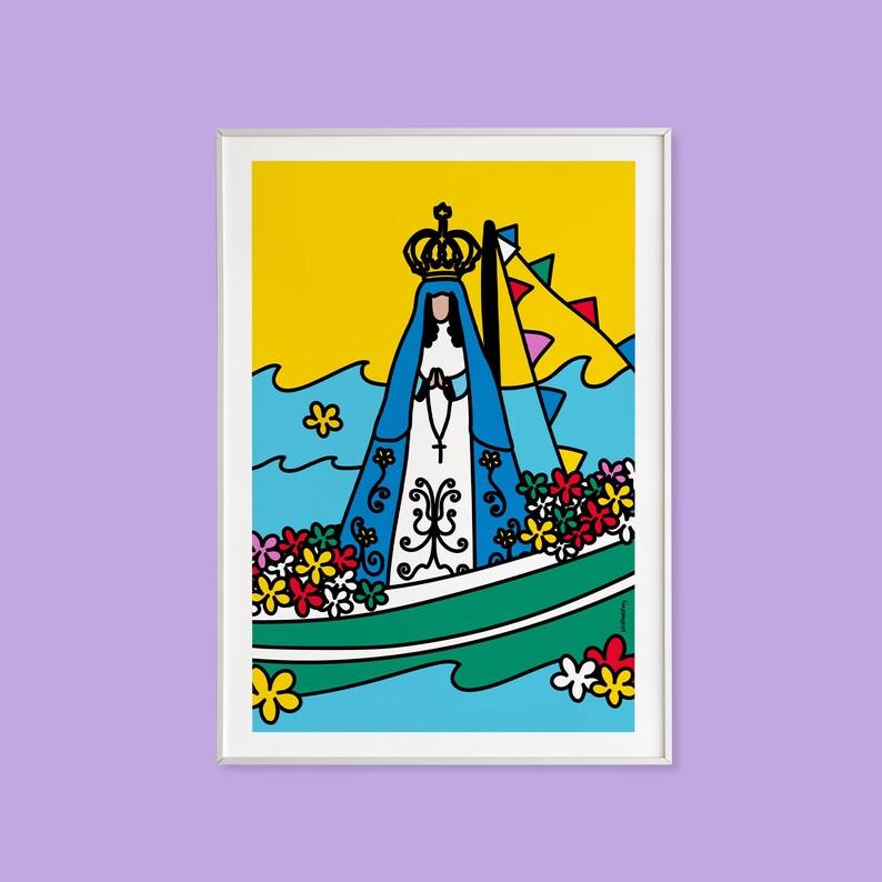 Vallita  Collection A little piece of Venezuela Printed image 1