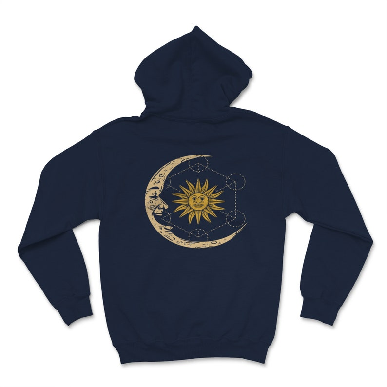 Sun and Moon as T-Shirt or Hoodie