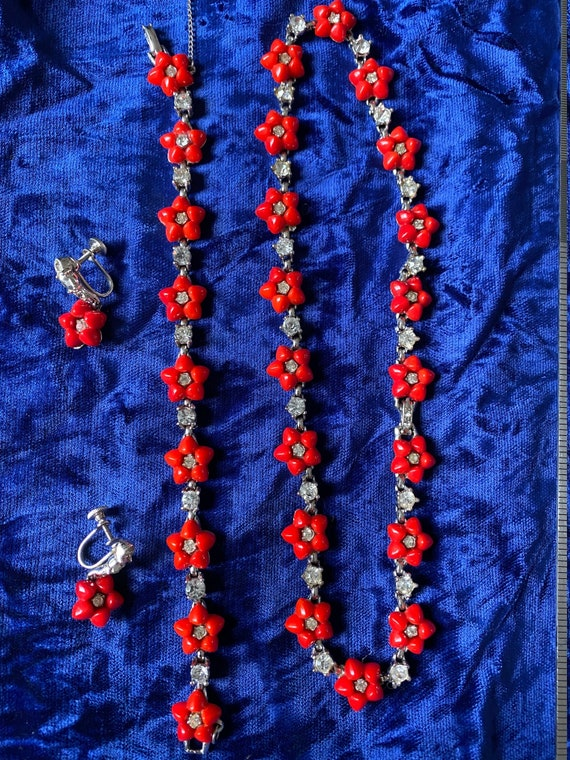 1940's American  designer necklace set