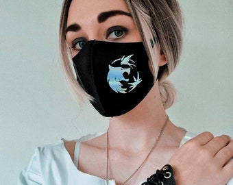 The Witcher Inspired Face Mask