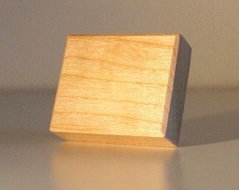 Square Wooden Drawer & Cabinet Knob