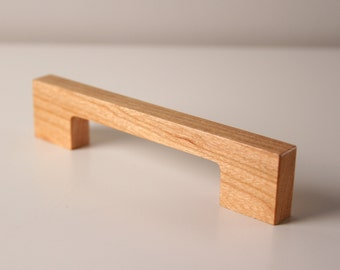 Square Wooden Drawer & Cabinet Pull