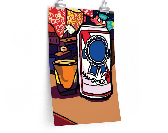 Citywide Special   Philadelphia Shot and Beer   Philly PBR Poster