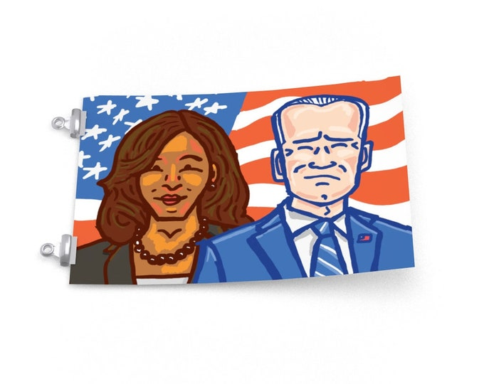 Joe Biden / Kamala Harris   Democrats Presidential Poster