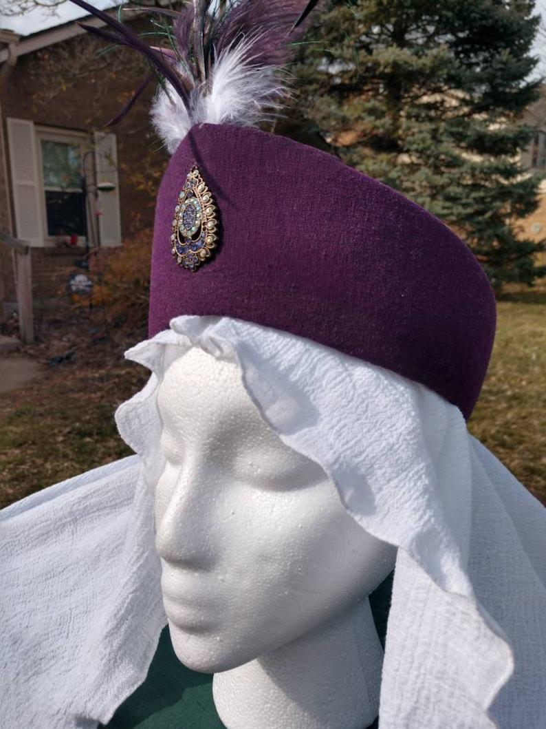 Diadem headdress Persian Taj