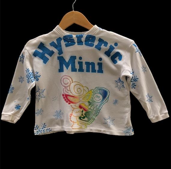 Hysteric Mini Fullprint Christmas Snow Sweatshirt