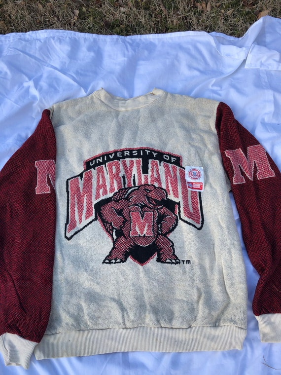 University of Maryland pullover sweater