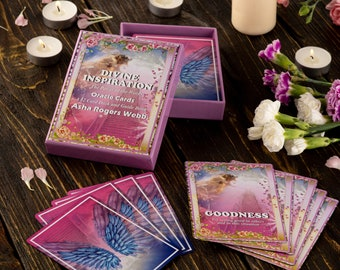 Divine Inspiration The Power of the Words Oracle Cards. Daily Angelic Guidance in all aspects of life.