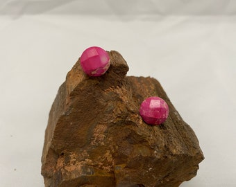 Sea Sediment Jasper Stud Earrings
