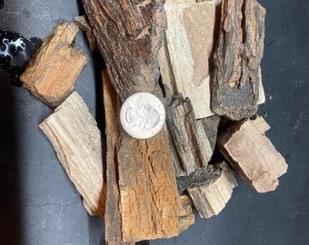 Bulk Arizona petrified wood. Medium pieces.