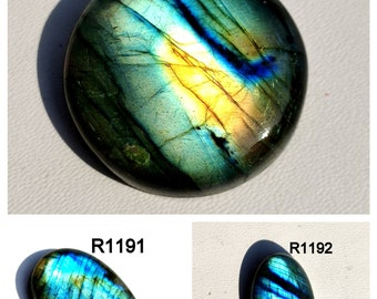 Natural Labradorite Loose Gemstone Top Quality Multi Labradorite Cabochon Wire Wrap Jewelry 51.70 Carat Oval Shape Best For Silver