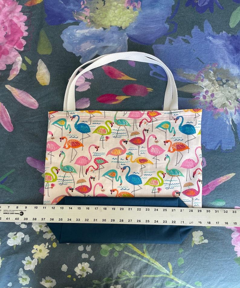 Sassy Flamingo Tote Bag