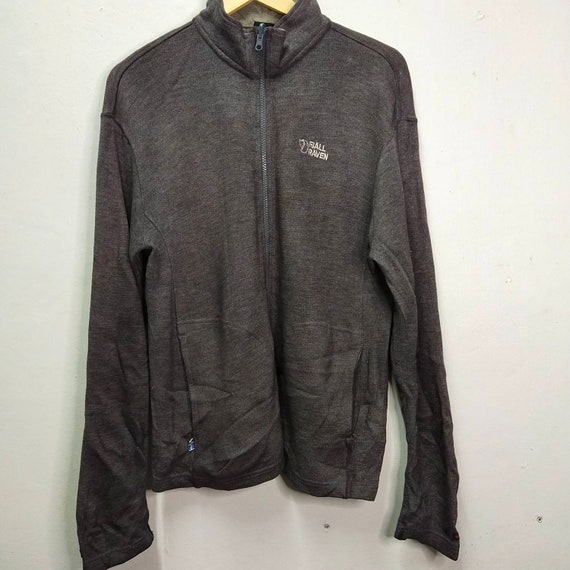Fjallraven Full Zipper Sweatshirt