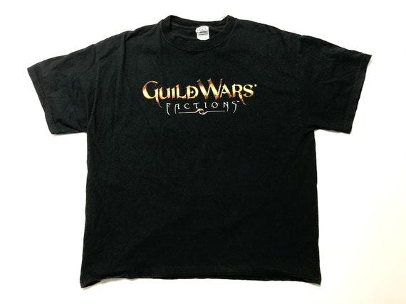 Guild Wars Video Game Promo T-Shirt Men's L