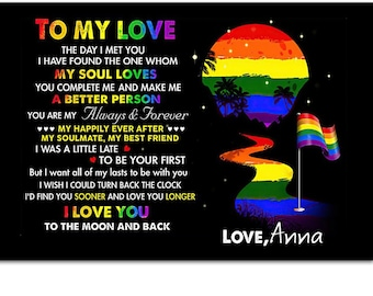 LGBT Pride Poster They Whispered To Her You Can/'t Withstand The Strom She Whispered Back I Am The Storm Vintage Poster CLT91 LGBT Poster