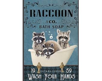 This Is My Best! Raccoon Wall Art Print