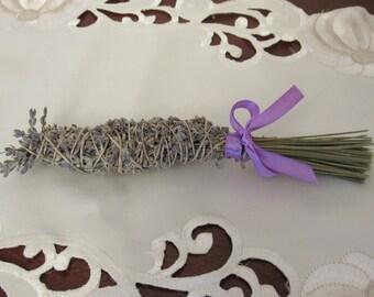 Lavender smudge