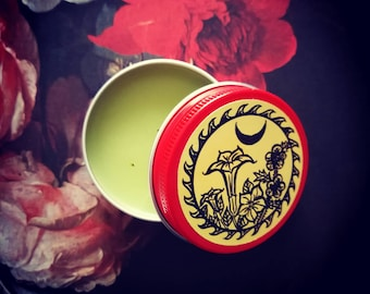 VENEFICA RUBEA Datura Henbane Witch Flying Ointment