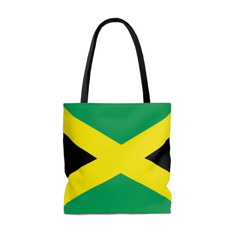 Jamaican AOP Tote Bag