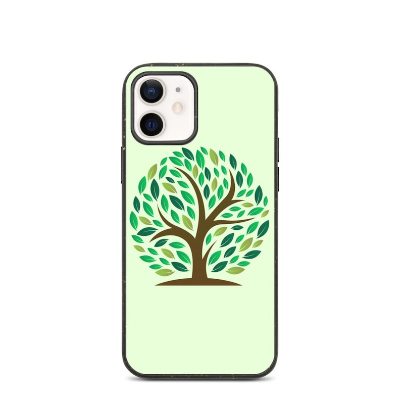 100/% Biodegradable iPhone Case XR 11 Pro Max iPhone X XS Max 11 Pro 11 12 Pro Eco-friendly iPhone Case 12 XS Tree iPhone Case
