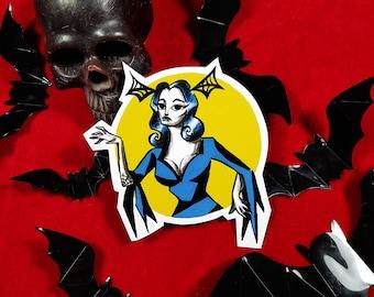 Sticker Vampira