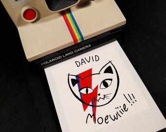 Polaroid David Mowiiie !!!