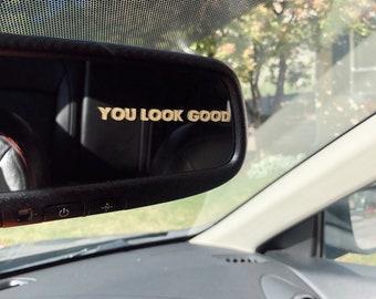 Car Mirror Decal