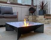 Fin Fire Pit - Handmade Fire Bowl Outdoor Garden Patio