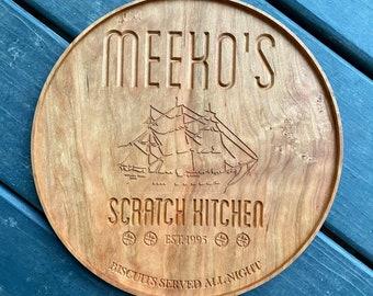 Meeko's Scratch Kitchen Serving Tray
