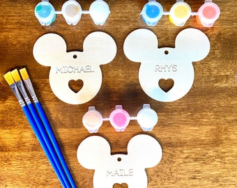 Personalized Mickey Painting Kits