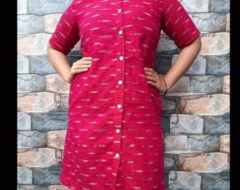 Ikkat Kurta Dresses for girls, girls clothin
