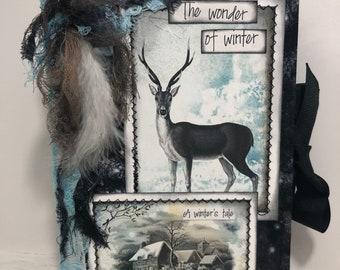 A Winter's Tale Junk Journal #3 of 3