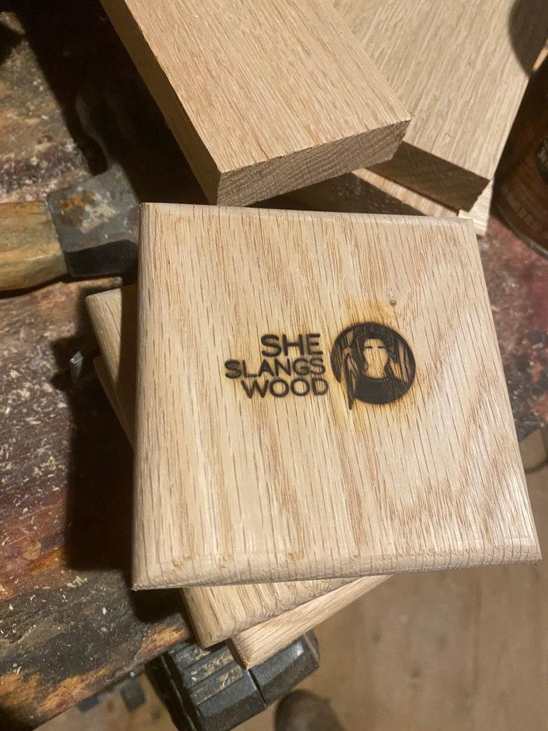 SSW Red Oak Coasters