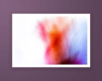 Abstract high quality fine art print, Colourful photography art print, Minimalist photography print by Jennifer Esseiva.