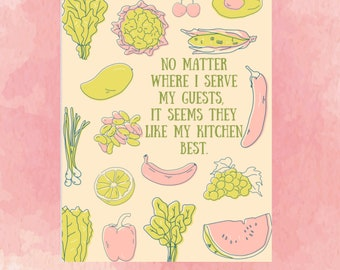 """Kitchen Poster 