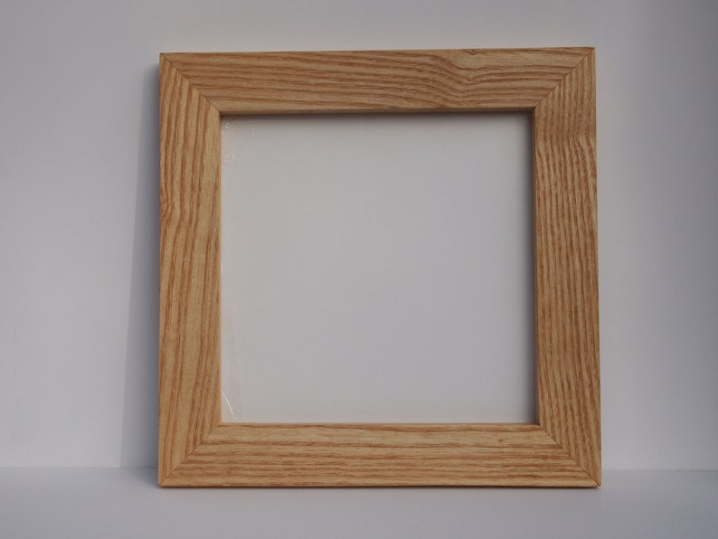 1.5 inch Wooden Picture Frames Made From White Ash Natural Wood