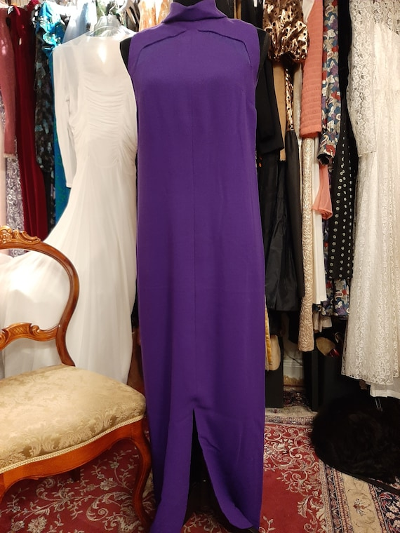 Purple dress 1960's