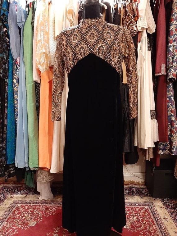 Beautiful evening dress 1960's