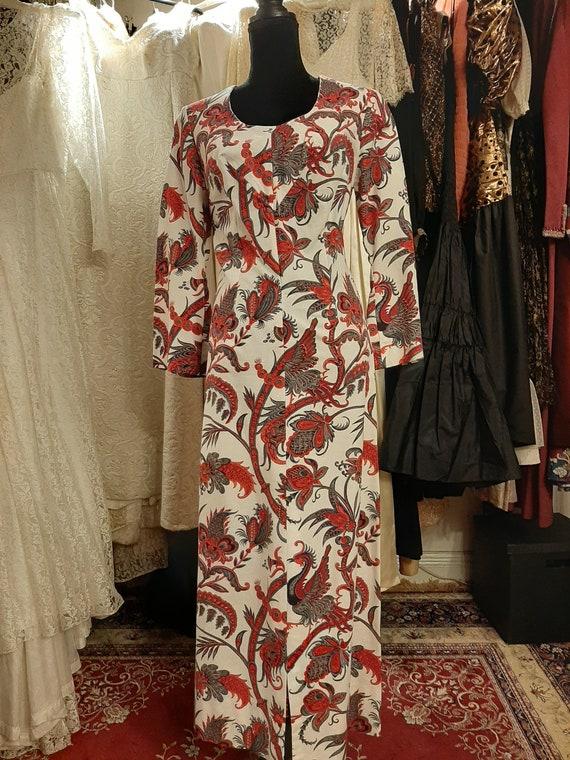 Floral dress 1970's