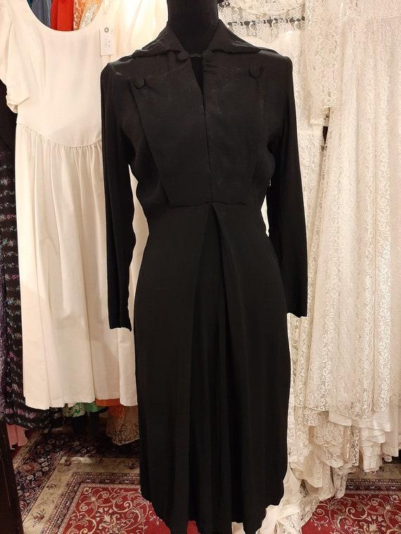 Black dress 1940's